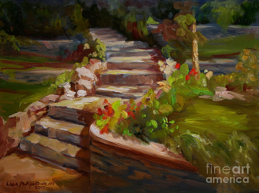 Summer Painting - Morning Light by Lisa Phillips Owens