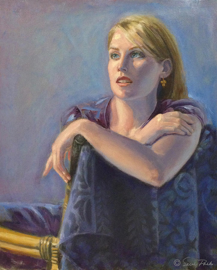 Figurative Painting - Morning Light by Sarah Parks