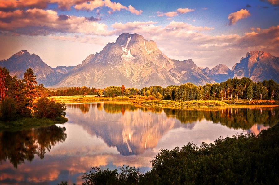 Grand Teton National Park Photograph - Morning Majesty by Marty Koch