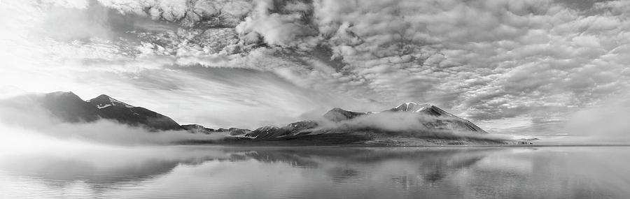 Panorama Photograph - Morning Mist by Marloes Van Pareren