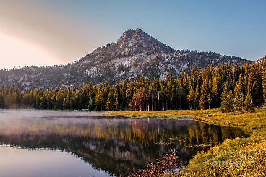 Wallowa Mountains Photograph - Morning Mist by Robert Bales