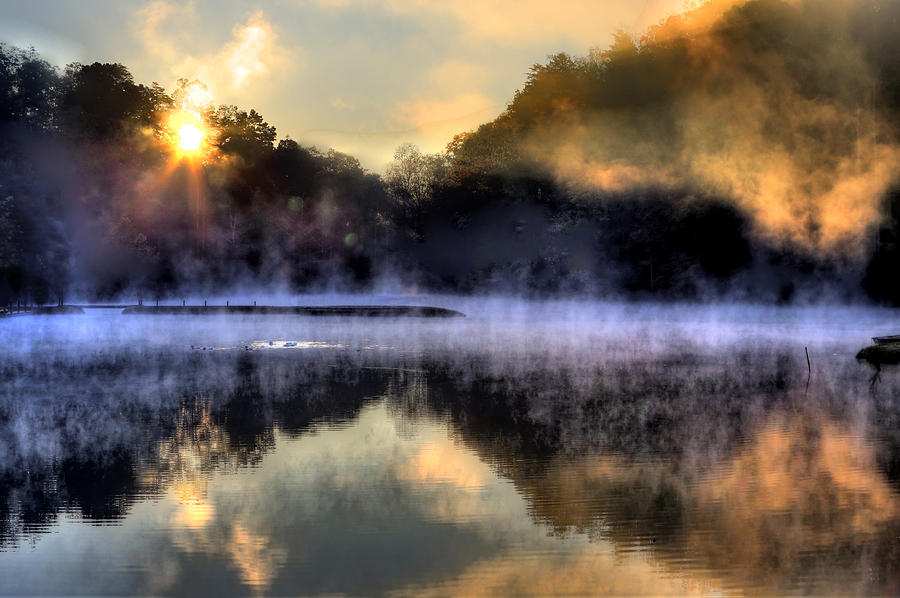 Morning Mist by Steve Parr
