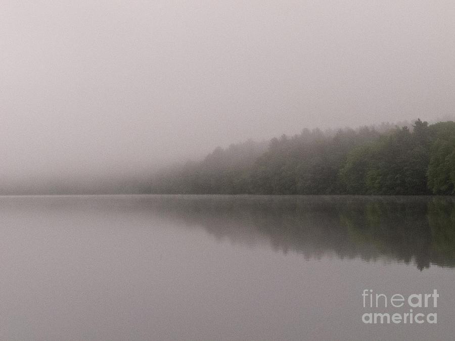 Morning Photograph - Morning Mists by Agata Wisniowska