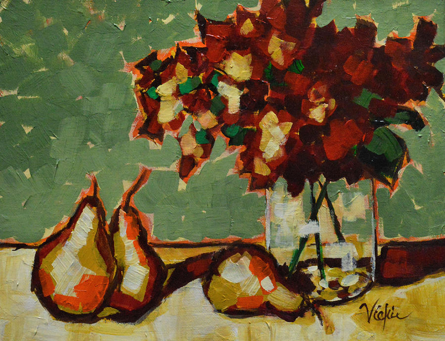 Still Life Painting - Morning Moment by Vickie Warner