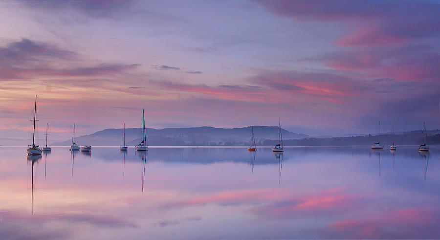 Seascape Photograph - Morning Mood by Max Witjes