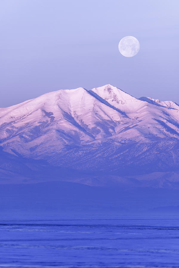 Morning Moon Photograph - Morning Moon by Chad Dutson