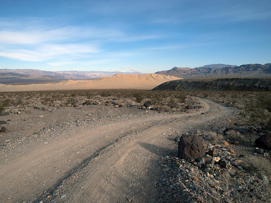 Death Valley Photograph - Morning On Steele Pass by Joe Schofield
