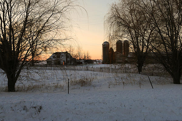 Morning on the Farm by Rural America Scenics