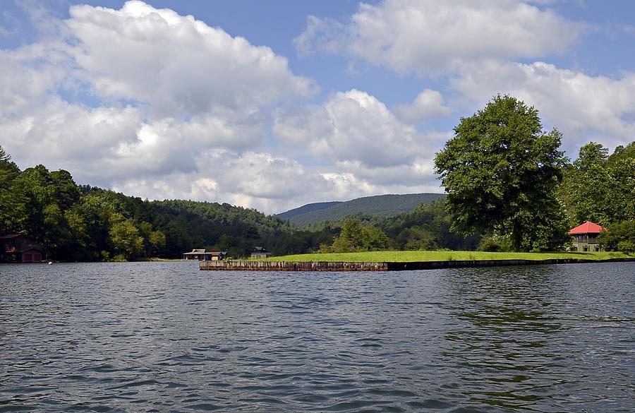 Lake Photograph - Morning On The Lake by Susan Leggett