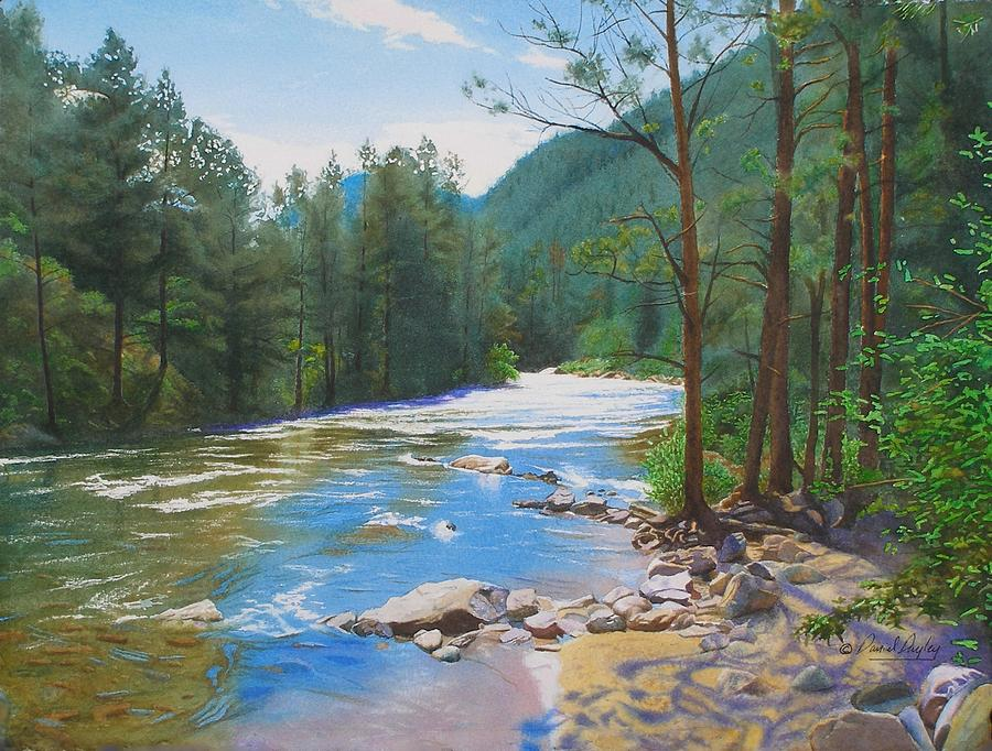 Morning on the Poudre River by Daniel Dayley