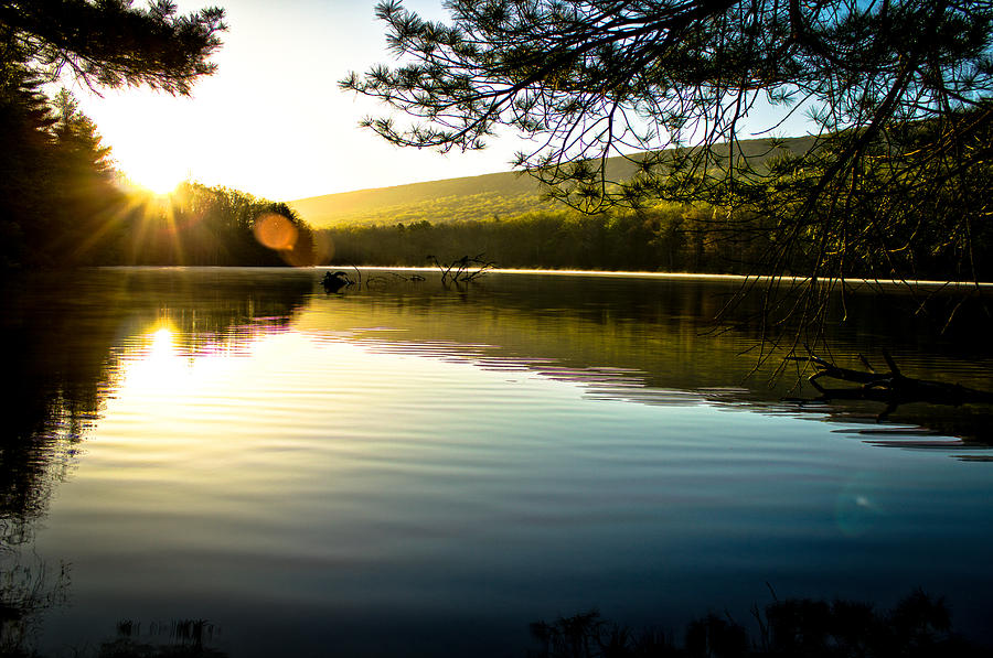 Rise Photograph - Morning Peace by Jahred Allen
