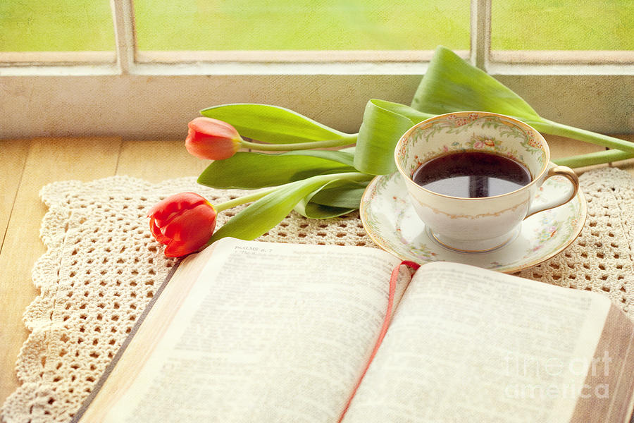 Bible Photograph - Morning Psalms by Kay Pickens