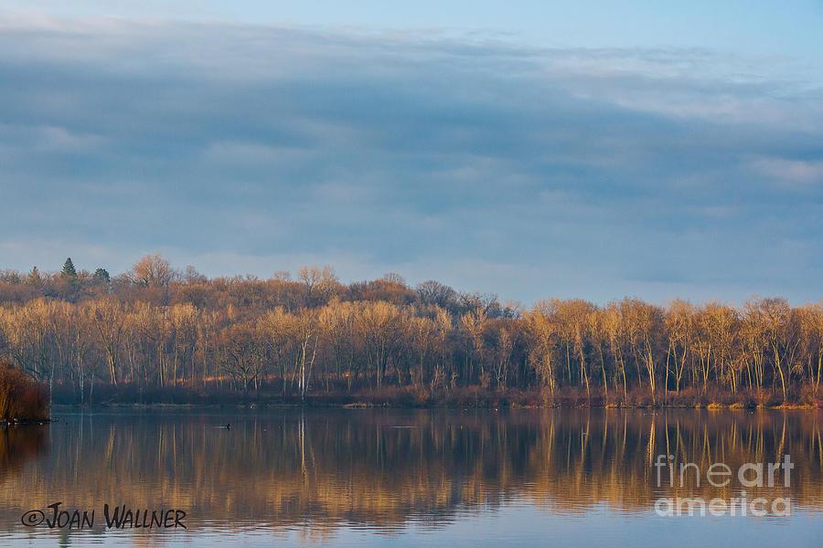 Morning Photograph - Morning Reflection by Joan Wallner