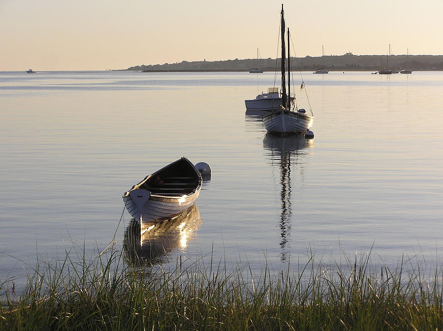 Sea Photograph - Morning Reflections by Richard Mansfield
