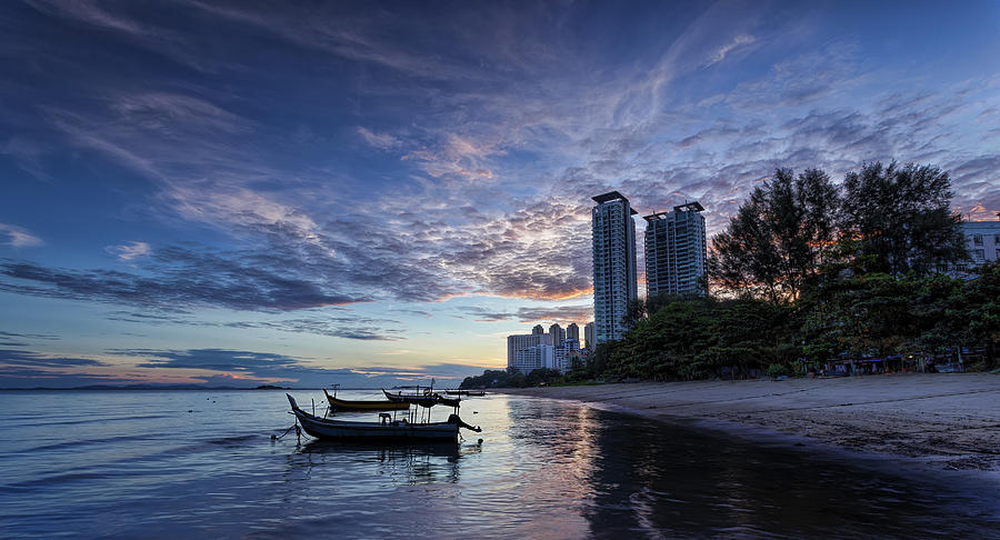 Sunrise Photograph - Morning Sail by Mario Legaspi