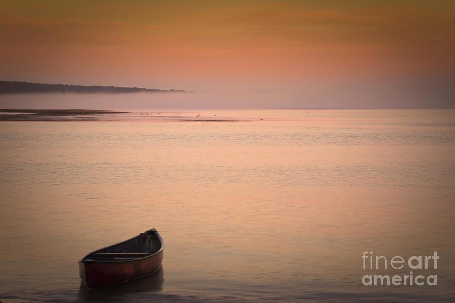 Sunrise Photograph - Morning Sea Smoke by Brenda Giasson