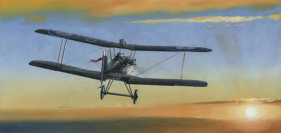 Se5a Painting - Morning Serenade by Wade Meyers