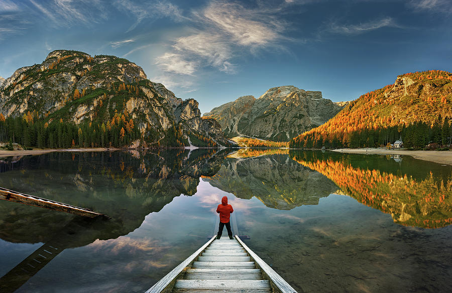 View Photograph - Morning Silence... by Krzysztof Browko