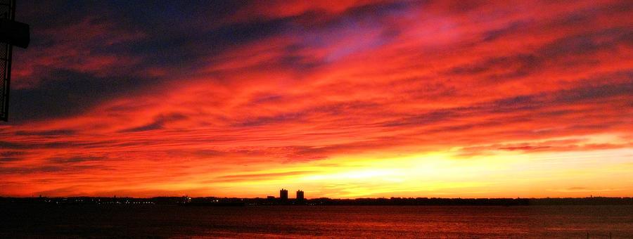 Dawn Photograph - Morning Sky by Robert McCulloch