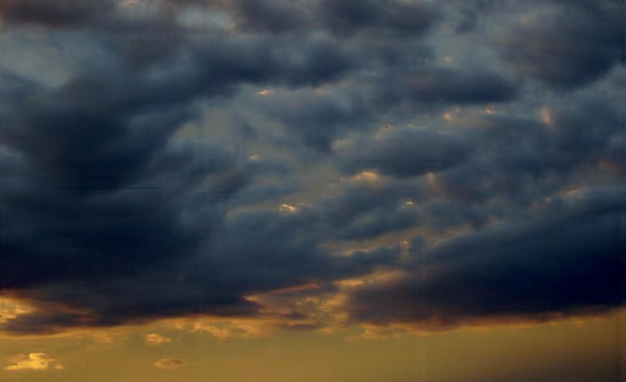 Clouds Photograph - Morning Sky by Yvette Pichette