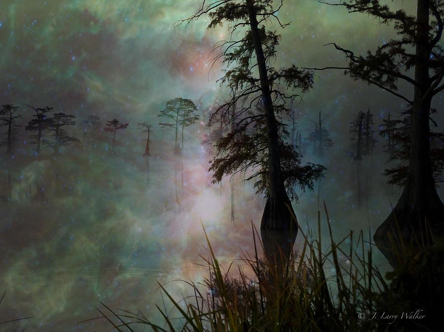 Morning Solitude by J Larry Walker