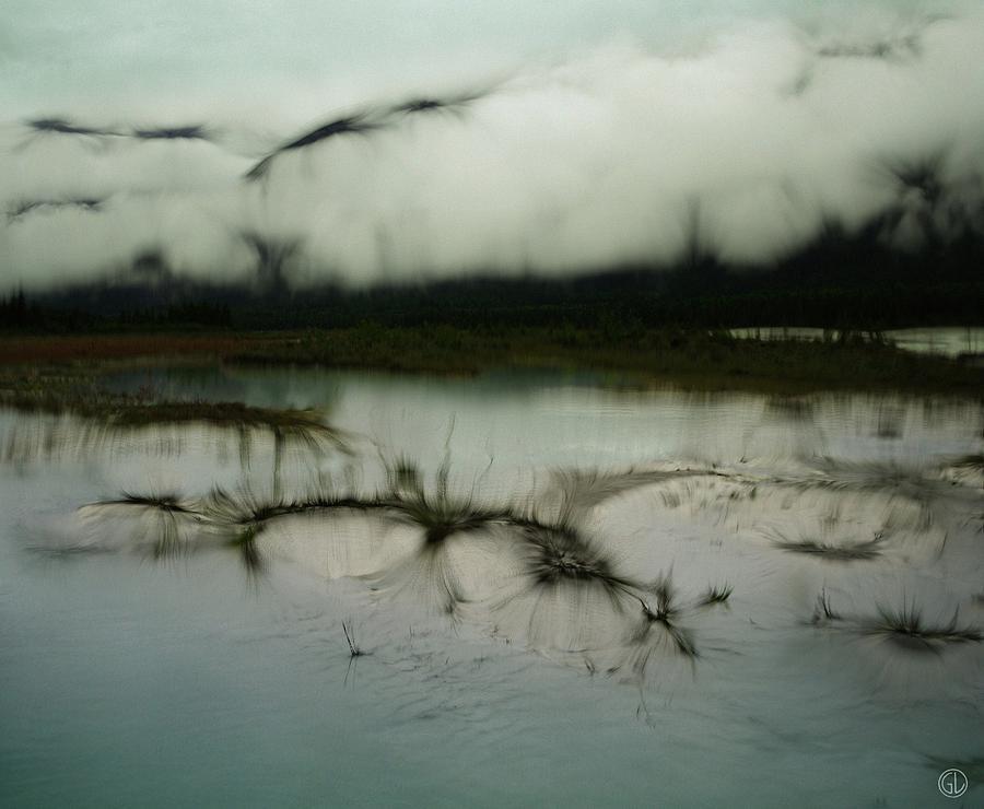 Abstract Digital Art - Morning Stillness by Gun Legler