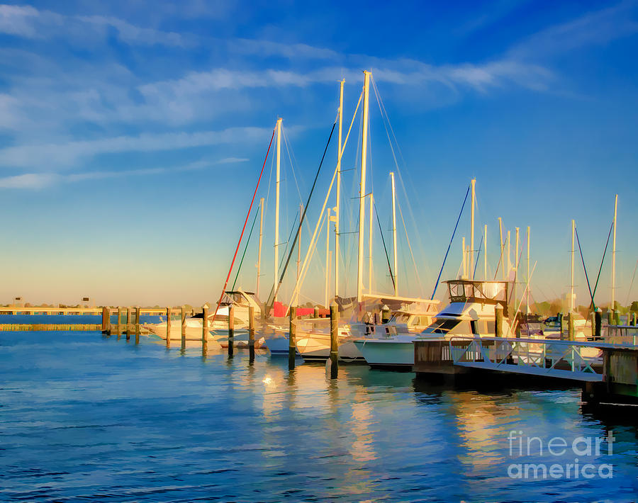 Fort Monroe Photograph - Morning Sun by Ava Reaves