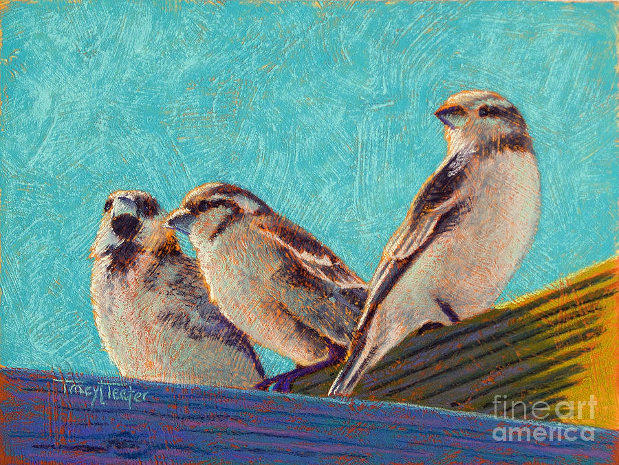 Morning Pastel - Morning Sunshine by Tracy L Teeter