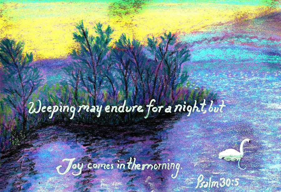 Swan Painting - Morning Swan by Catherine Saldana