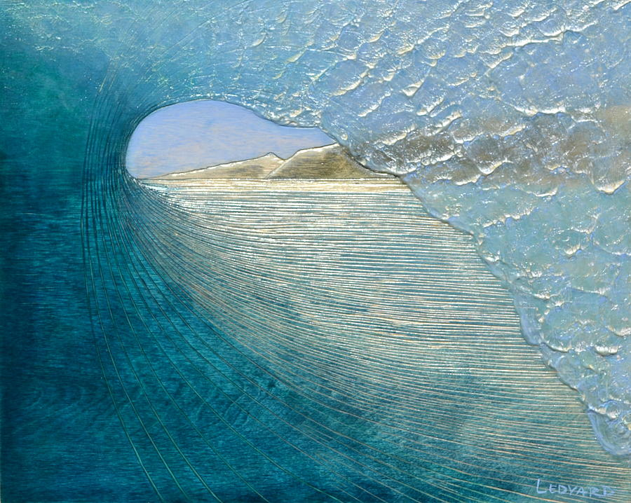 Wave Painting - Morning View by Nathan Ledyard