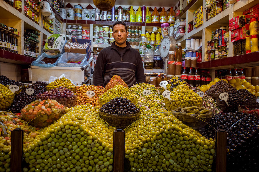 Moroccan Grocery Photograph by Pierre-Yves Babelon