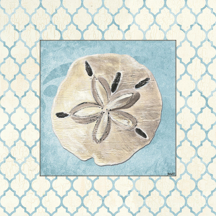 Shell Painting - Moroccan Spa 2 by Debbie DeWitt