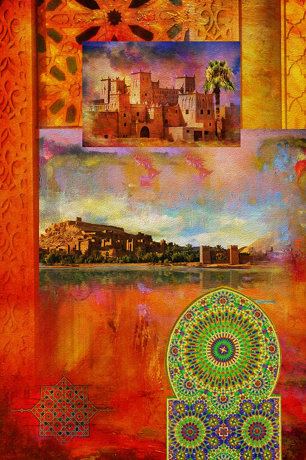 Morocco Heritage Poster Painting by Catf