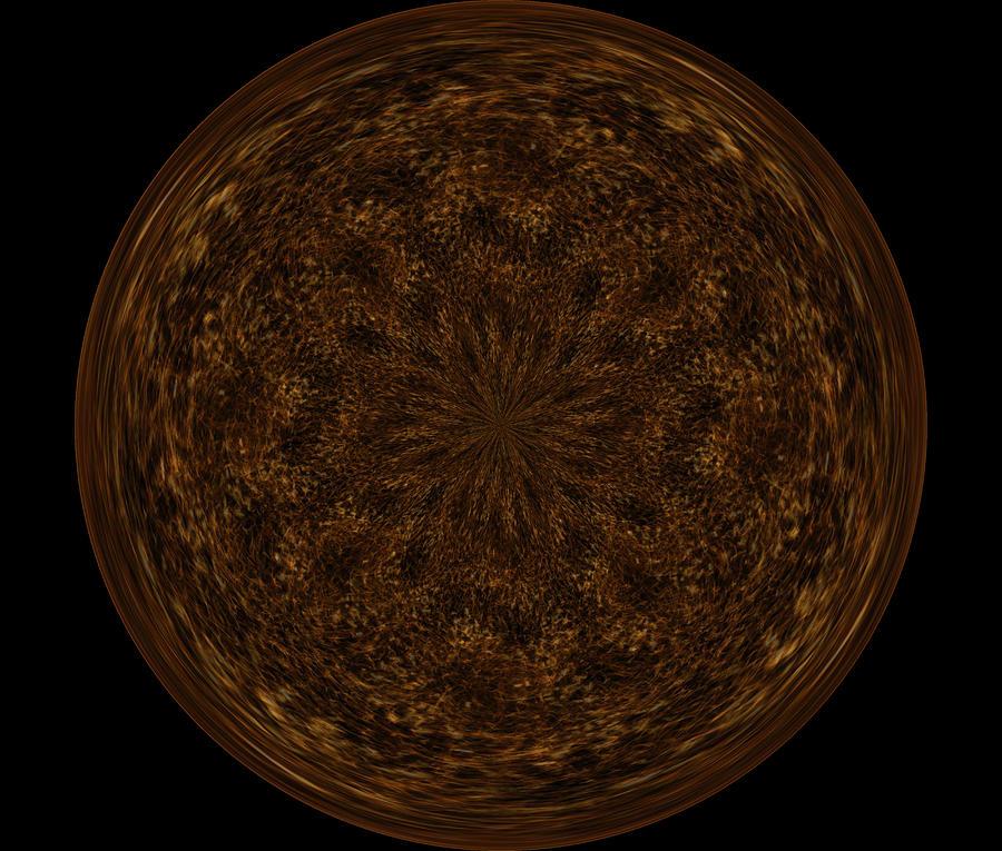 Decoration Digital Art - Morphed Art Globe 32 by Rhonda Barrett