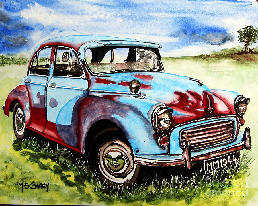Old Rusty Car Paintings | Fine Art America