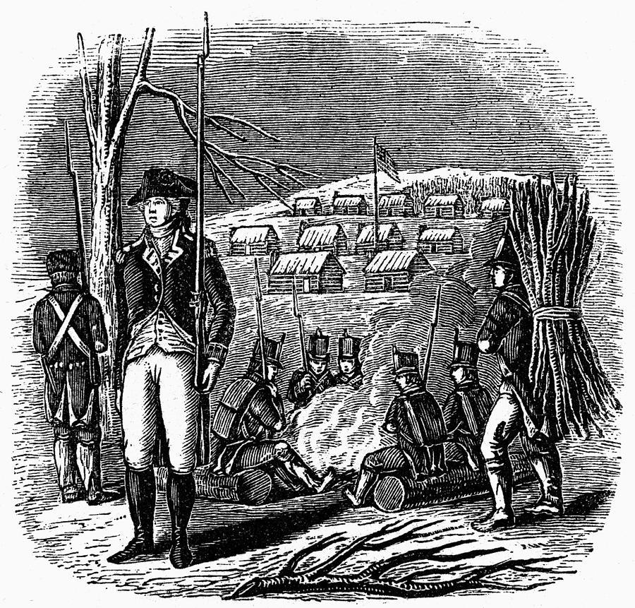 1777 Photograph - Morristown: Encampment by Granger