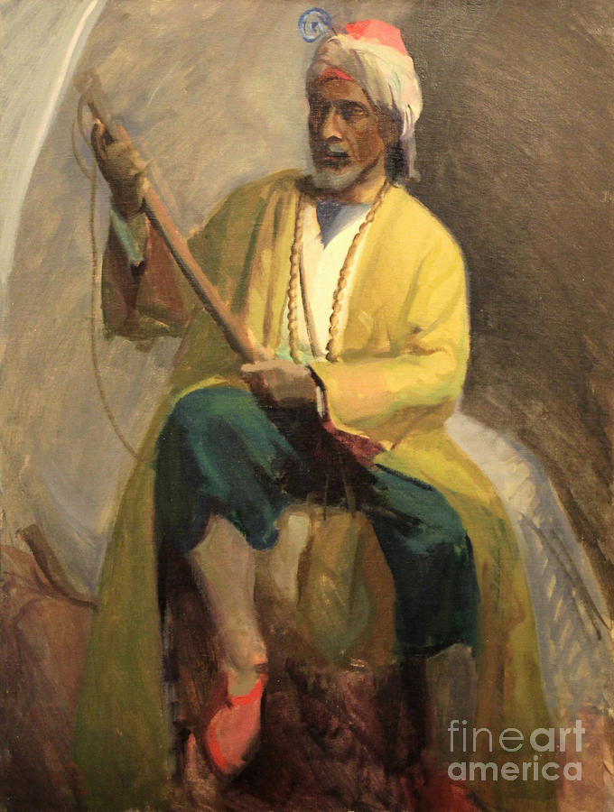 Morrocan Musician 1929 by Art By Tolpo Collection