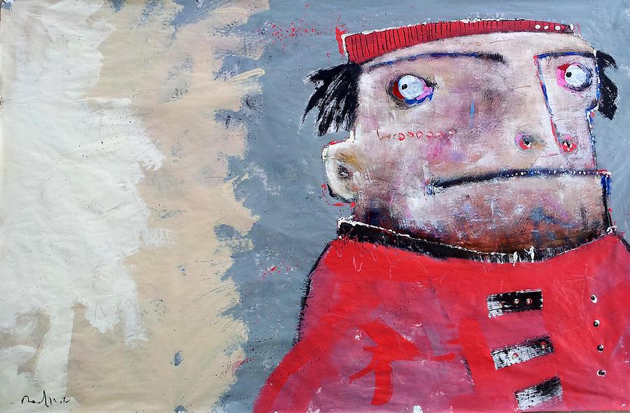 Abstract Painting - Mortalis No. 13 by Mark M  Mellon