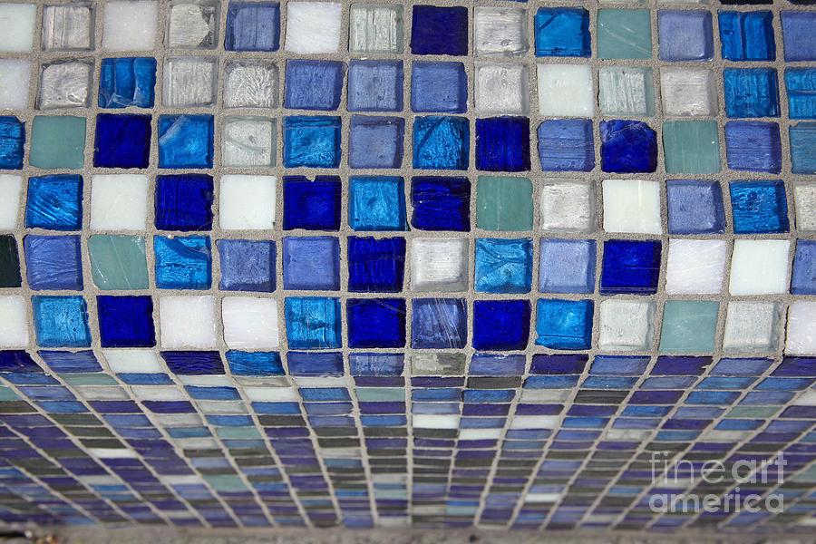 Abstract Photograph - Mosaic Tile by Tony Cordoza