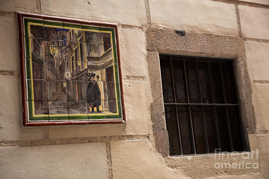 Mosaic Photograph - Mosaic Window by Rene Triay Photography