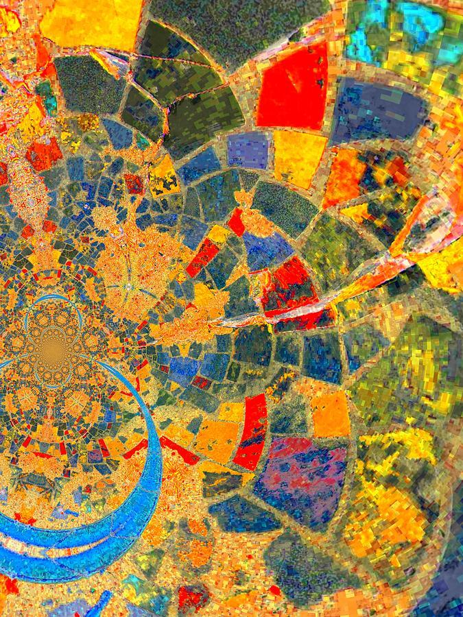 Nico Digital Art - Mosaik by Nico Bielow