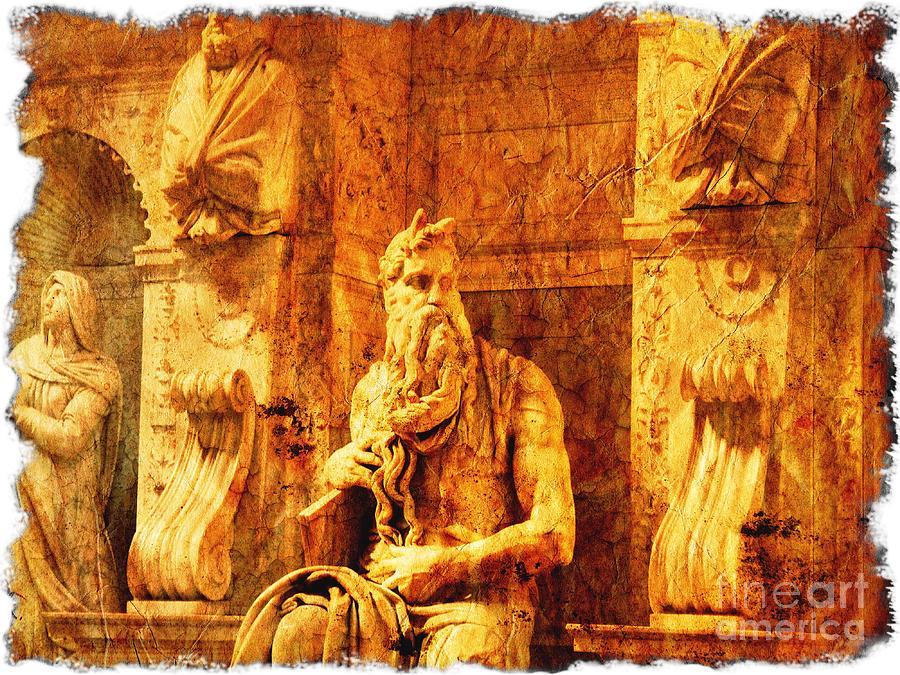 Exodus Photograph - Moses by Stefano Senise