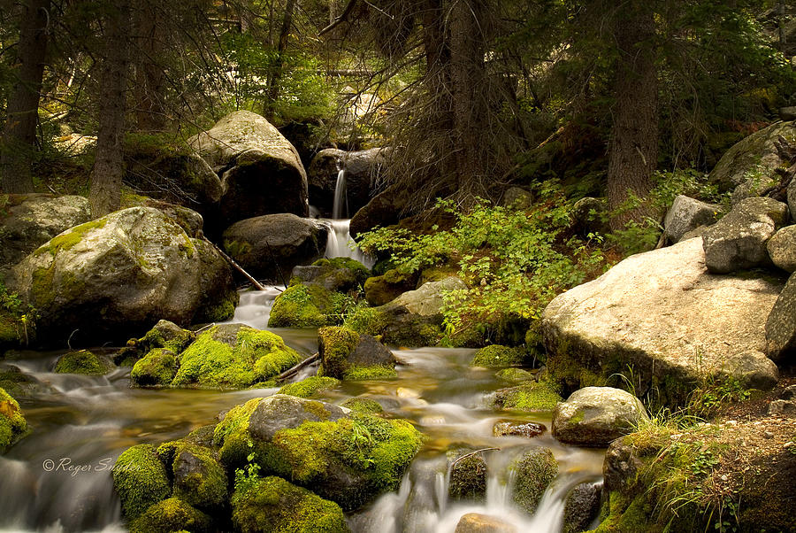 Beautiful Photograph - Mossy Falls 1 by Roger Snyder