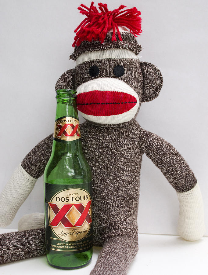 Monkey Photograph - Most Interesting Sock Monkey In The World by William Patrick