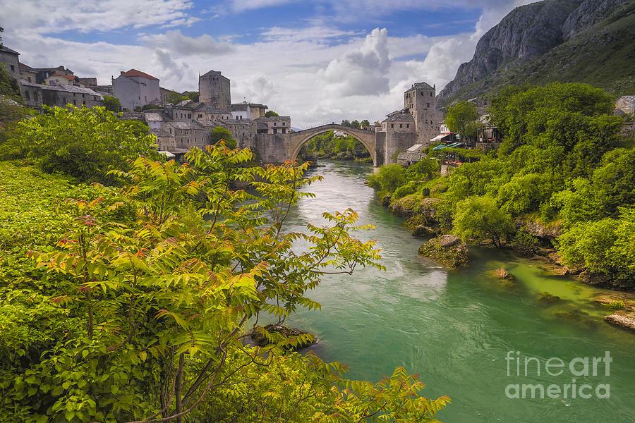 Mostar Photograph - Mostar  Bosna by Todor Bozhkov