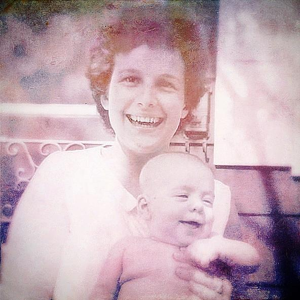 Smiles Photograph - Mother And Daughter by Beth Williams