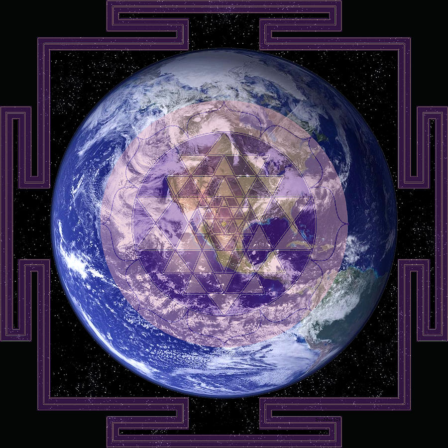 Earth Design Digital Art