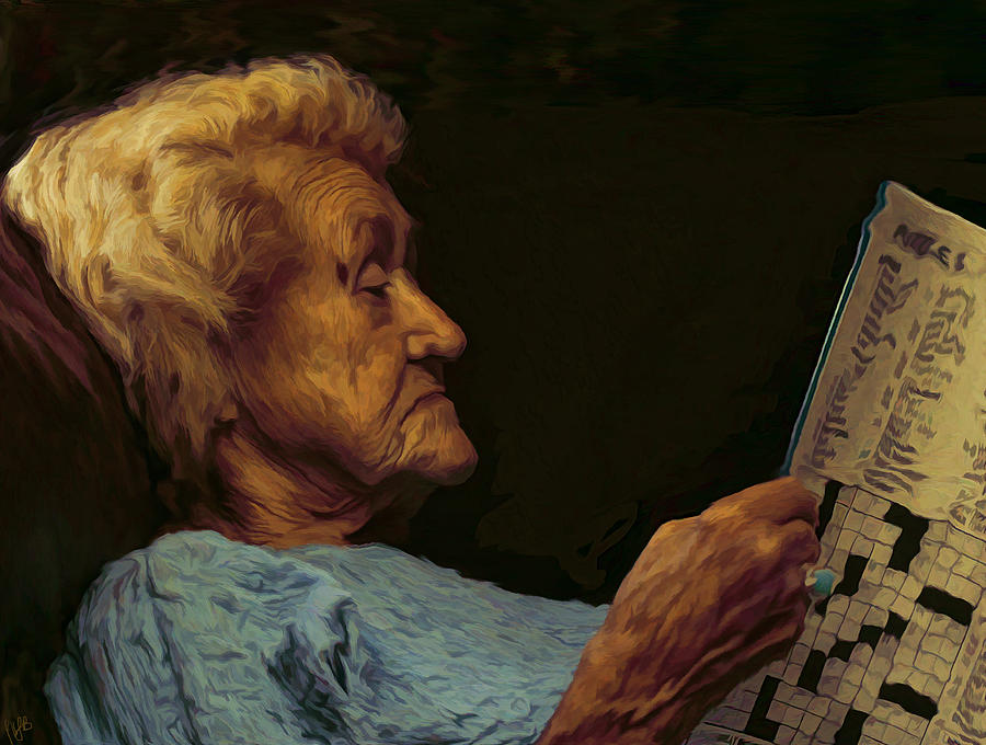Elderly Digital Art - Mother by Hazel Billingsley