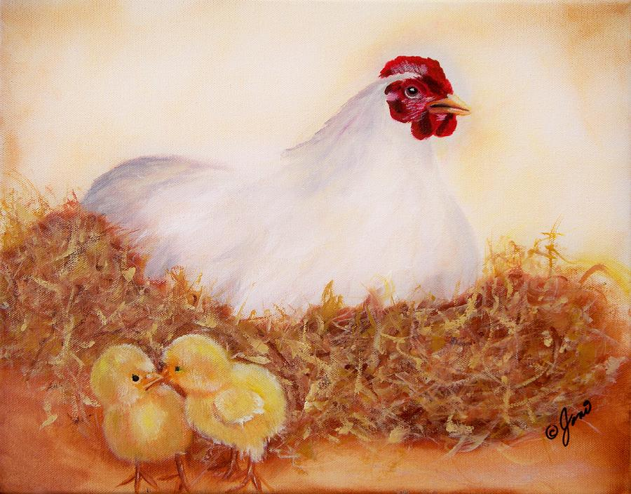Mother Hen by Joni McPherson