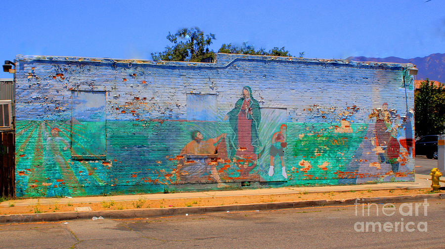 Brick Photograph - Mother Mary II by Kip Krause